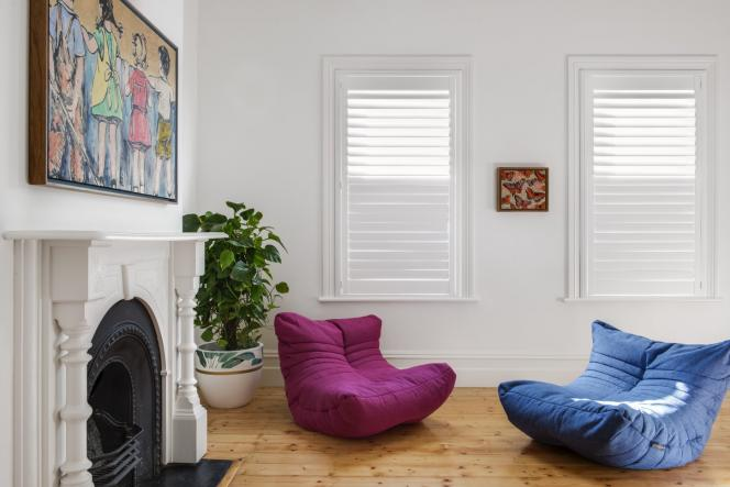 Plantation shutters look great in your home
