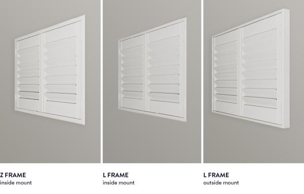 frame types help the shutters dept