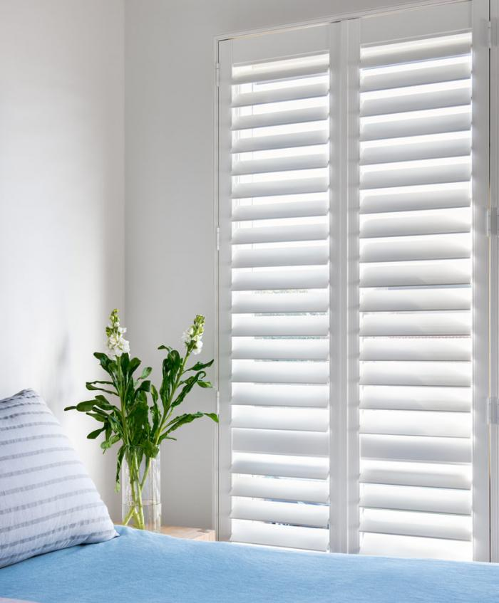 The low price of plantation shutters makes every room look good